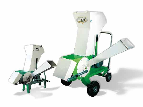 Broyeur à végétaux junior prise de force, moteur thermique ou électrique Groupe TOY