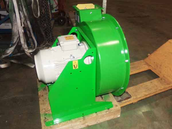 T3 TOY 15, 18.5 or 22 kW fan grinder