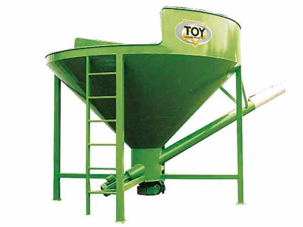 Storage and recovery of wet corn Distri Corn TOY Group
