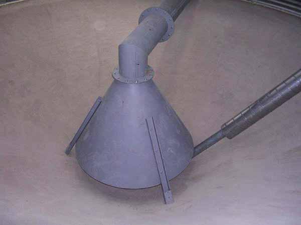 Ventilation des céréales TOY aéro cône