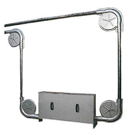 Antriebseinheit in Edelstahl oder lackierter Stahl
