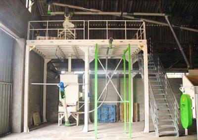 Unité de granulation bois énergie Groupe TOY UCG