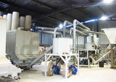 Unité de granulation bois énergie Groupe TOY