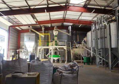 Groupe TOY UCG Unité de granulation bois énergie