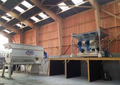 TOY مجموعة خلاط، مطحنة المتداول، الحزام الناقل: مصنع المواد الغذائية الهريس