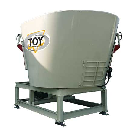 TOY methanization incorporater blender