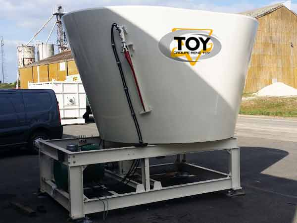 TOY Vertigaz vertical Chopper Mixer Impeller for methanization