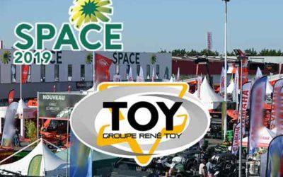 Space 2019 Groupe TOY présent stand extérieur