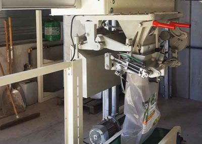 TOY Group Granulation Unit: Pellet bagging weighing module