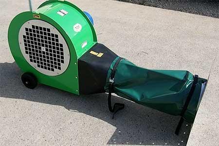 Gamme de Ventilateurs a céréales Groupe TOY sur entrée ventilation de cellules ou sur lames ventilées et caniveaux