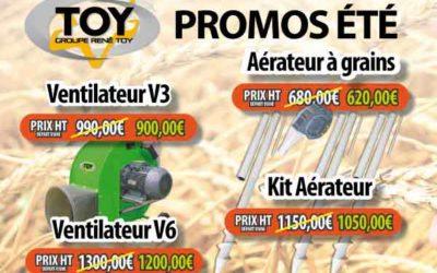 Promo sur ventilateurs et aérateurs à céréales