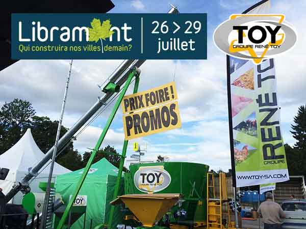 Retrouvez l'équipe TOY à Libramont 2019