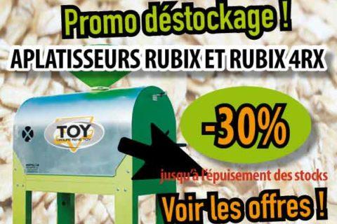 Promo Aplatisseurs Rubix & Scies à bûches – Fin de stocks