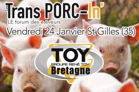 Groupe TOY présent à Trans-Porc-In' 24 Janvier St Gilles