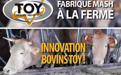 Fabrique pneumatique de mash en élevage
