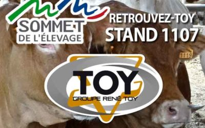 Sommet 2021 Groupe TOY stand extérieur 1107