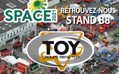 Space 2021 Groupe TOY stand extérieur B8
