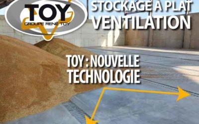 Stockage à plat Innovation/Ventilation